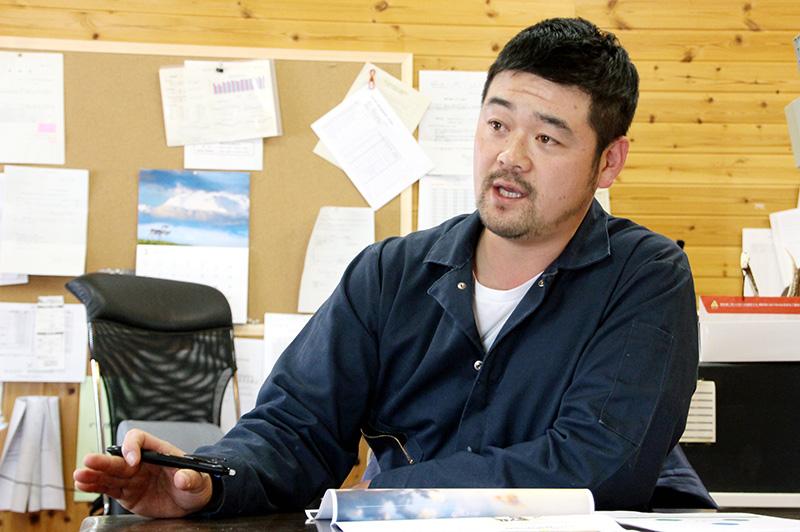 箸荷牧場の代表の今中克憲さん