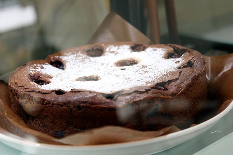 waccaの自家製ケーキ