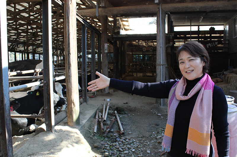 須藤牧場の須藤陽子氏