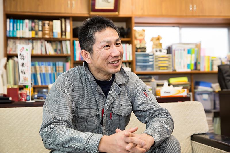 山形ピッグファーム代表取締役・阿部秀顕さん