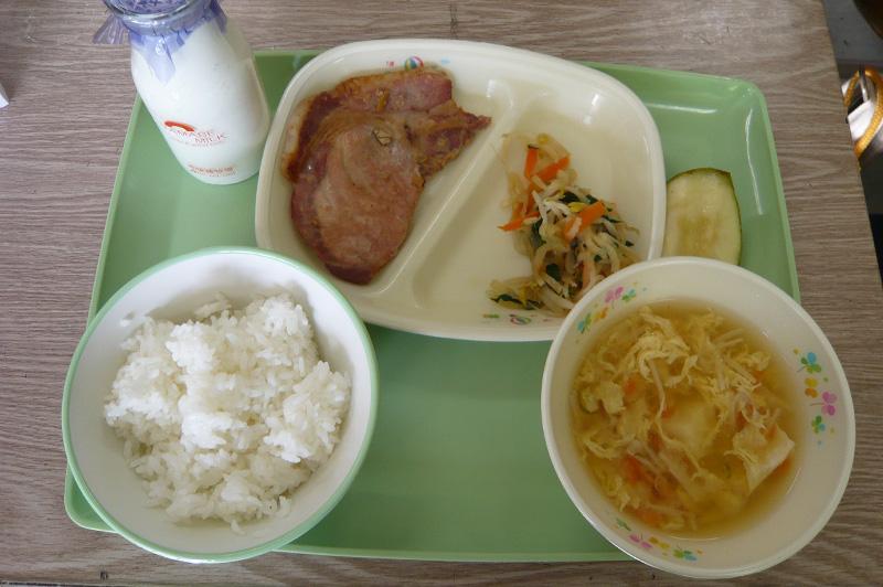 舞米豚の生姜焼き