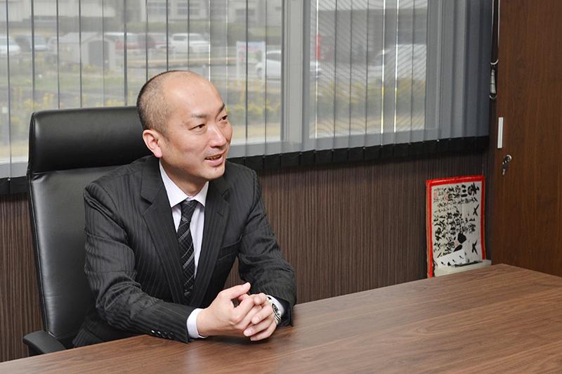 香川ランチグループの代表取締役社長香川さん