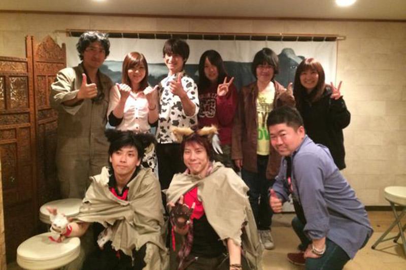 劇団「須藤兄弟」の人たち