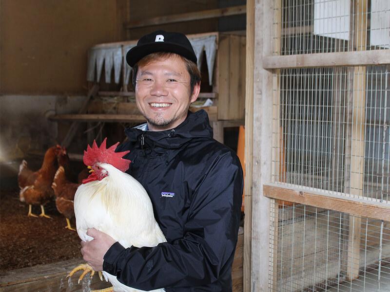 北坂養鶏場の代表・北坂さん