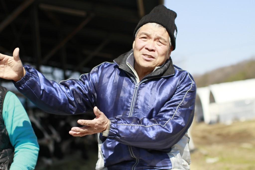 木目澤牧場の木目澤さん
