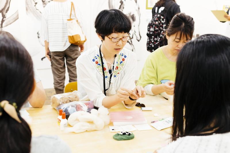 羊毛フェルトアーティスト・荒井牧子さん