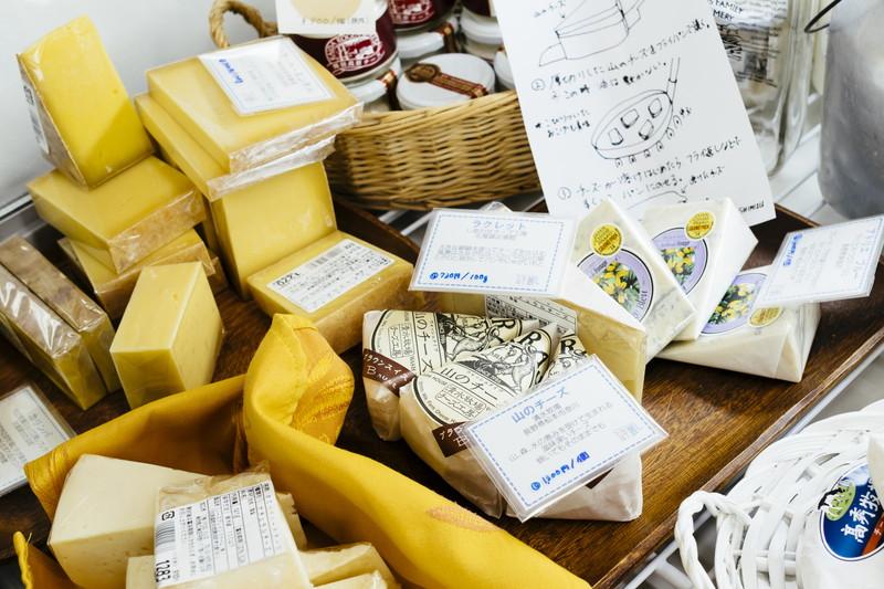 厳選されたチーズたち
