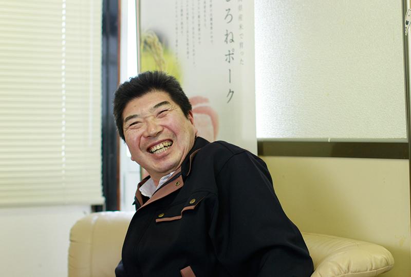 笑顔の有限会社キープクリーン代表の小嶋さん