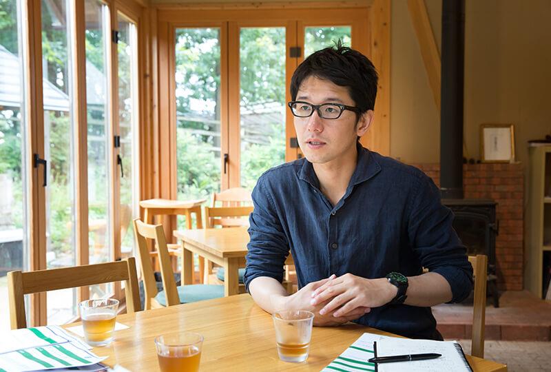 「森林ノ牧場」の山川将弘代表