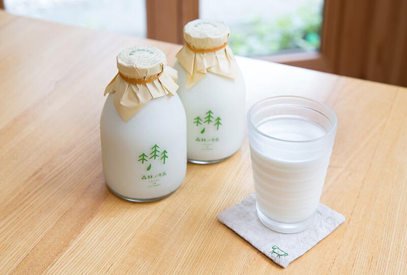 森林ノ牧場の「森林ノ牛乳」