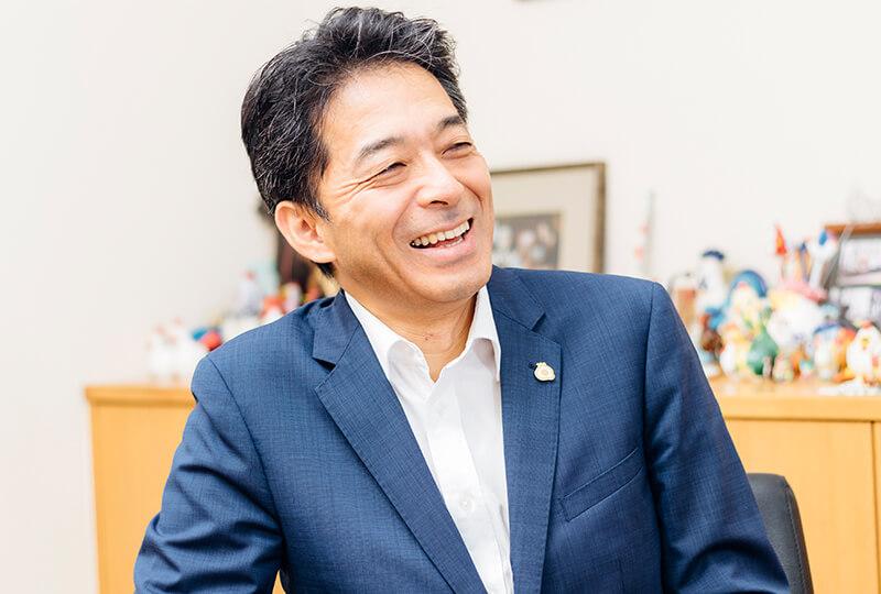 松本米穀精麦株式会社を経営する松本邦義さん