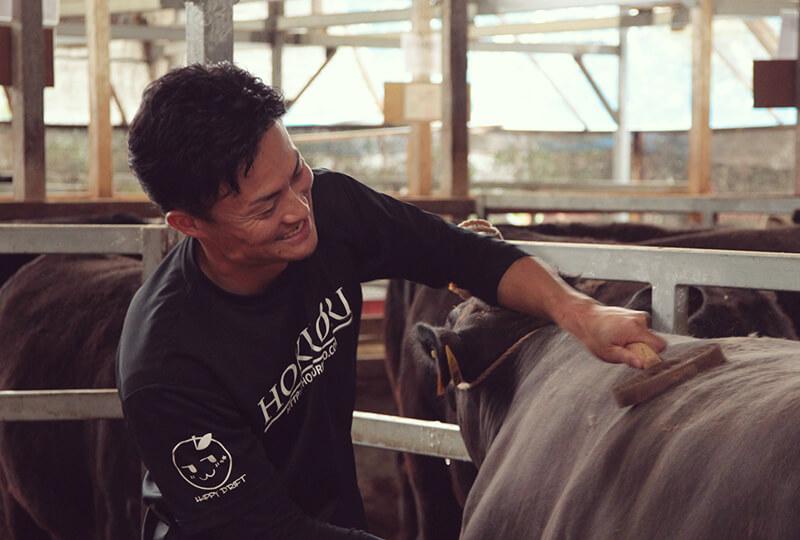 三重加藤牧場・明和牧場の加藤さんと牛