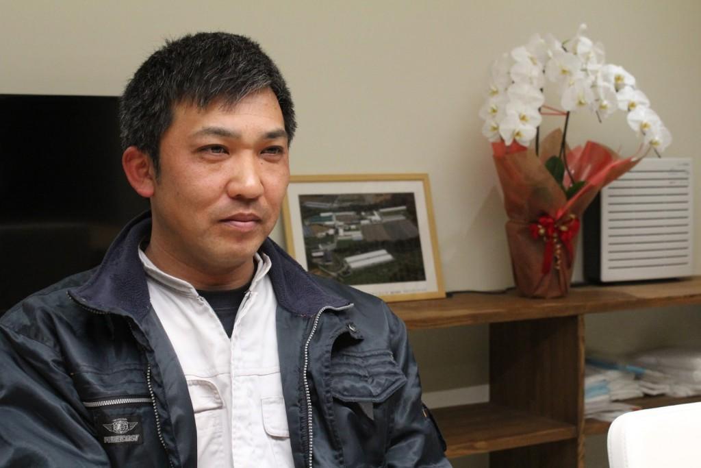 アリタホックサイエンスの代表取締役である在田健一さん