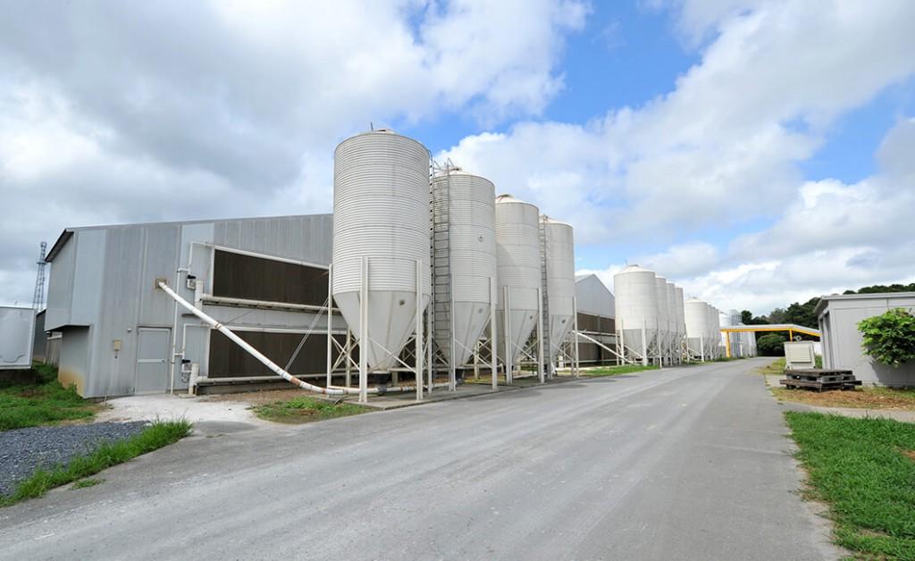 倉持産業の外観