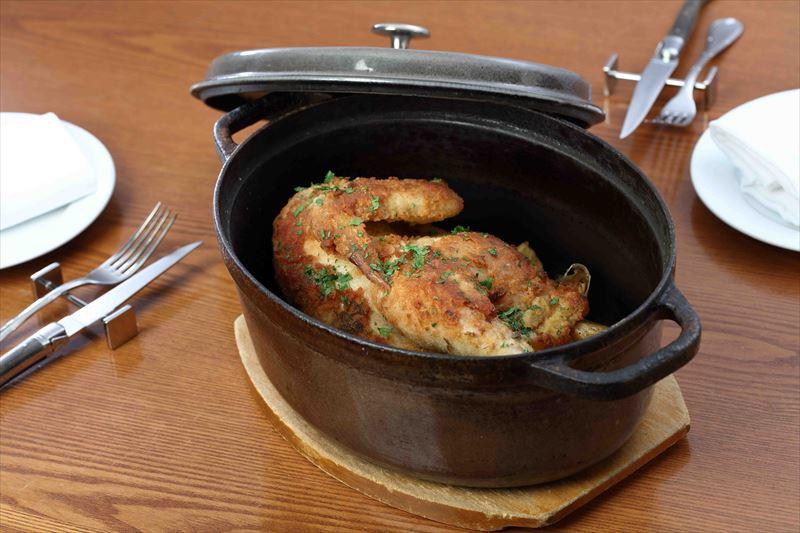 鶏肉のパン粉焼きマスタード風味
