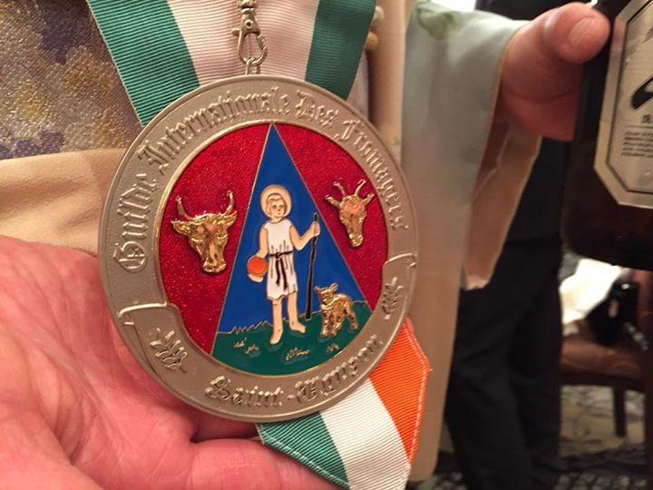 ギャルド・エ・ジュレのメダル