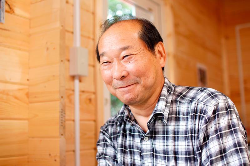 株式会社室蘭うずら園の代表である三浦忠雄さん