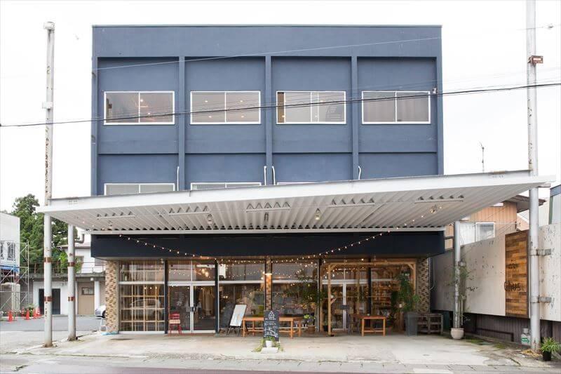 栃木県のJR黒磯駅の近くある「chus」