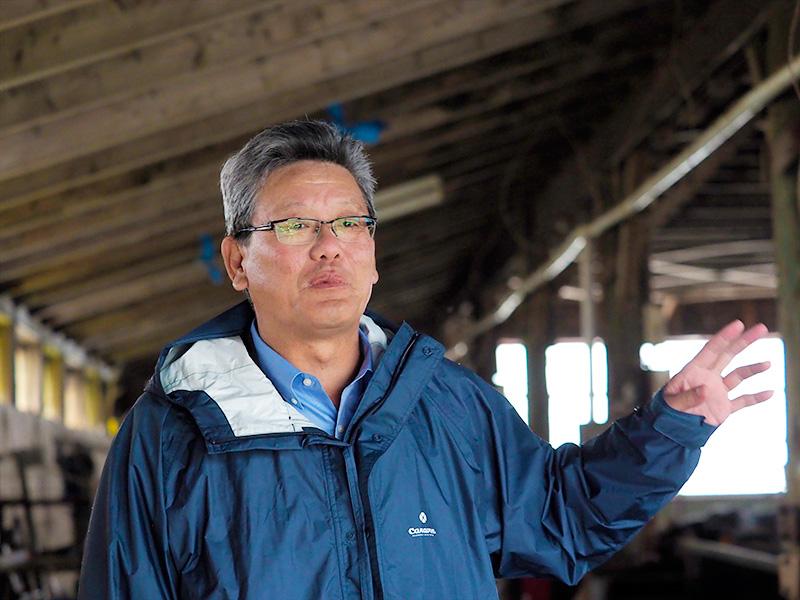 宗谷岬牧場の新保常務