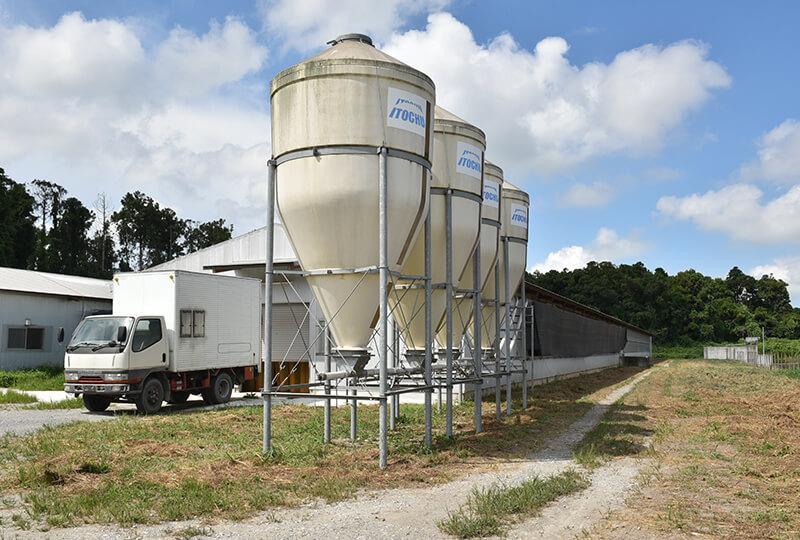 倉持産業にあるタンク