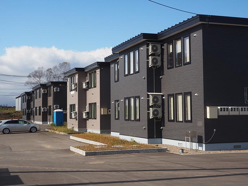 ドリームヒル敷地内の住居施設