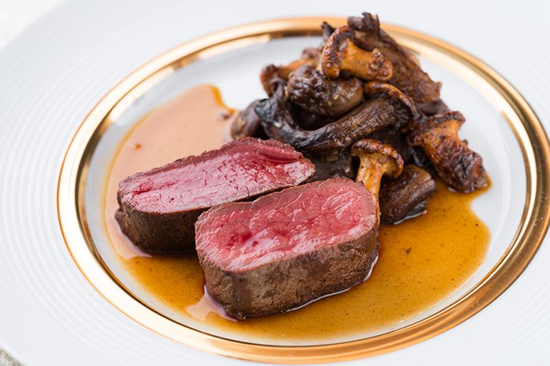 十勝ジビエ肉の料理