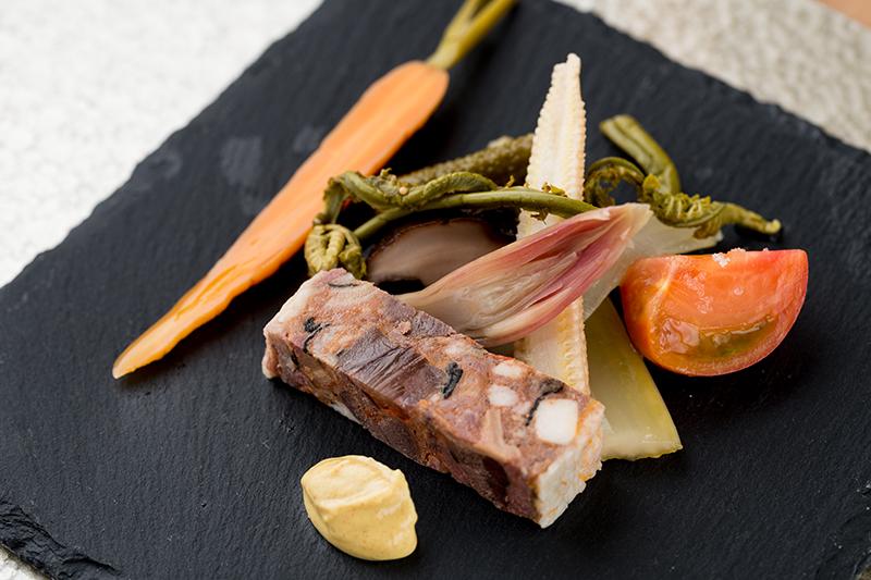 カマラード サッポロのコース料理