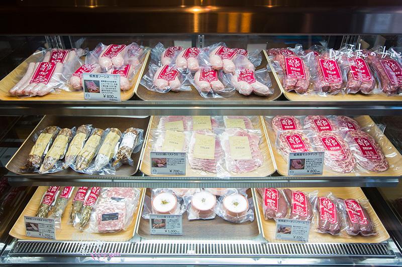 カマラード サッポロで販売されている加工肉