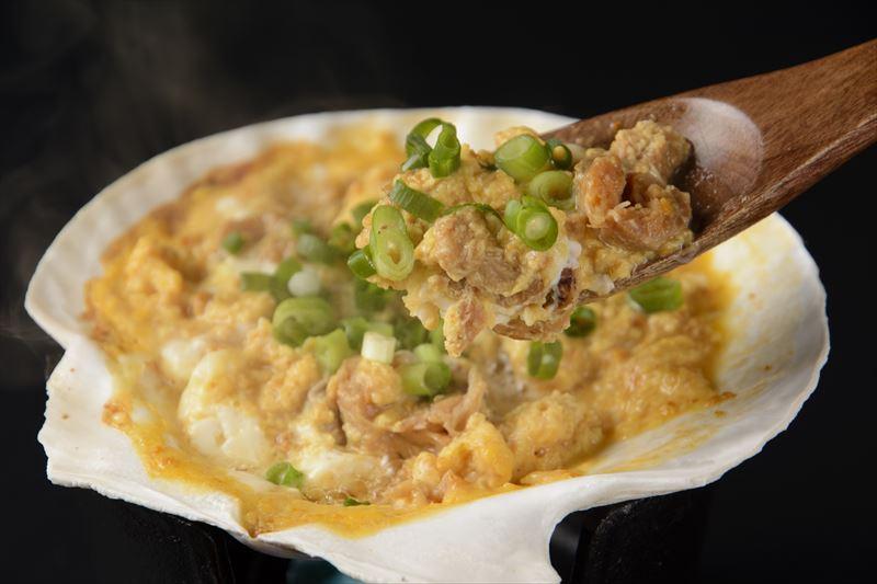 青森県の郷土料理「貝焼き味噌」