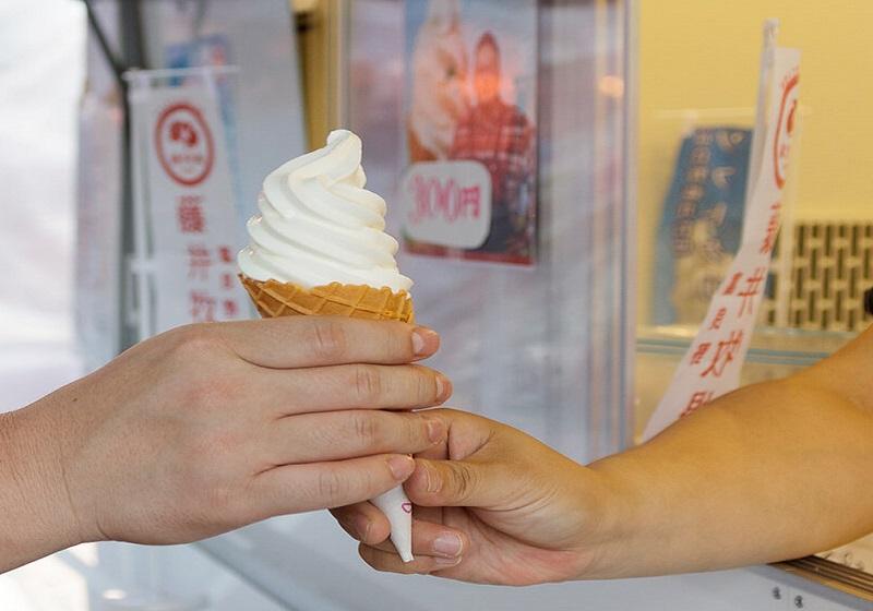 藤井牧場のソフトクリーム