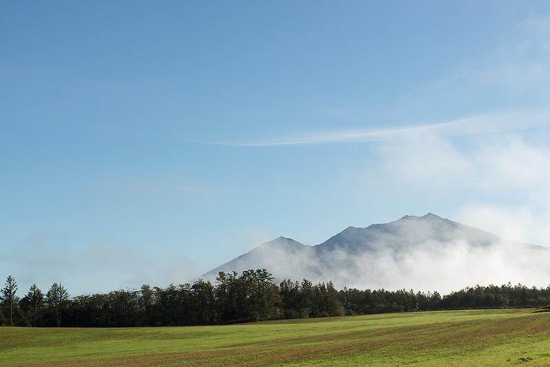 富良野、藤井牧場からの景色