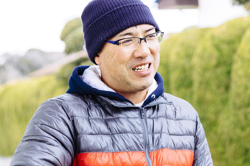 高秀牧場代表の高橋憲二さん