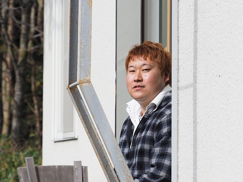 竹下牧場の齋藤さん