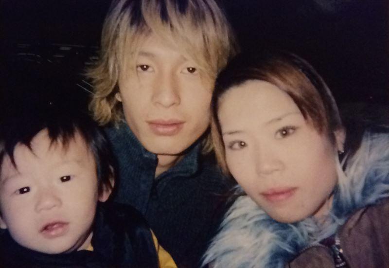 廣澤さんご夫婦と長男のリク君