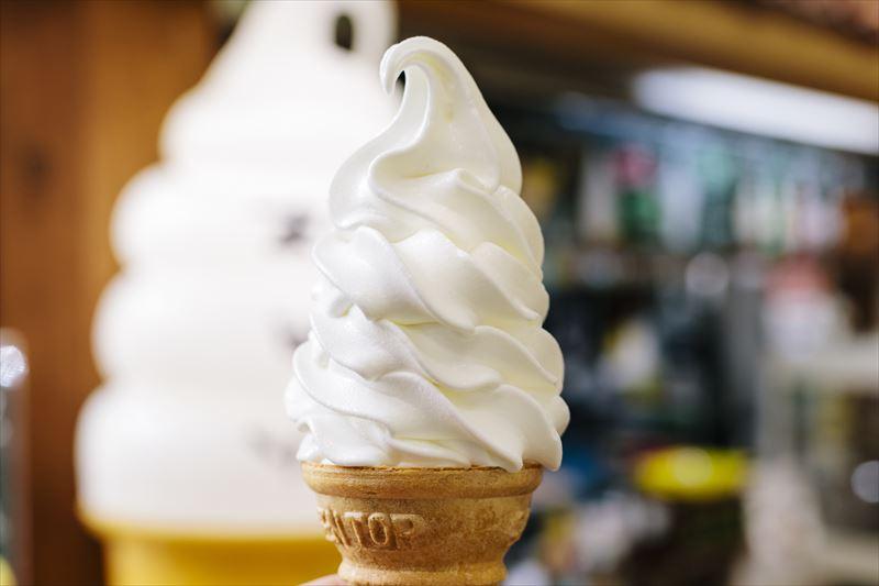 ティコのソフトクリーム