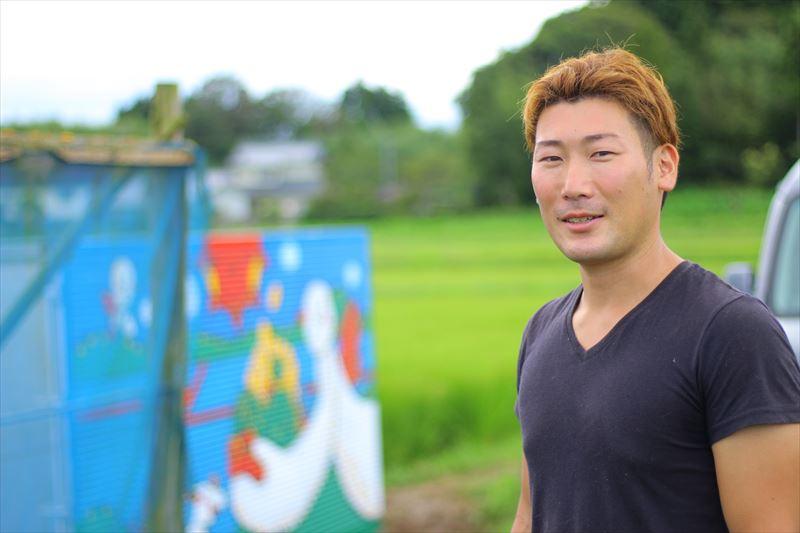 大野村農園・菊池将兵さん