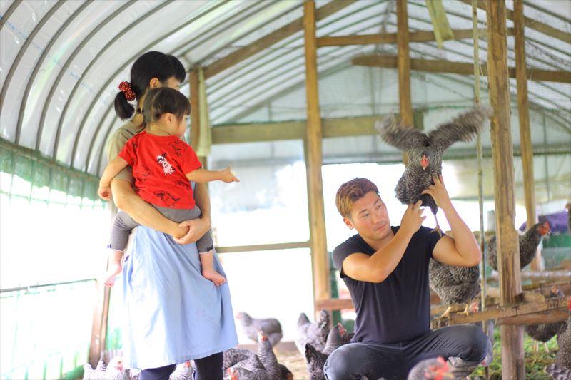 菊池さんと奥様とお子さん