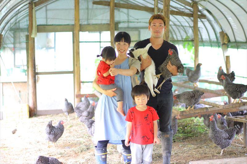 大野村農園の菊池さんご家族