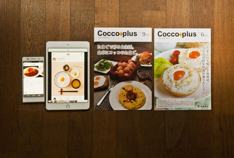 「Cocco plus」とインスラグラム