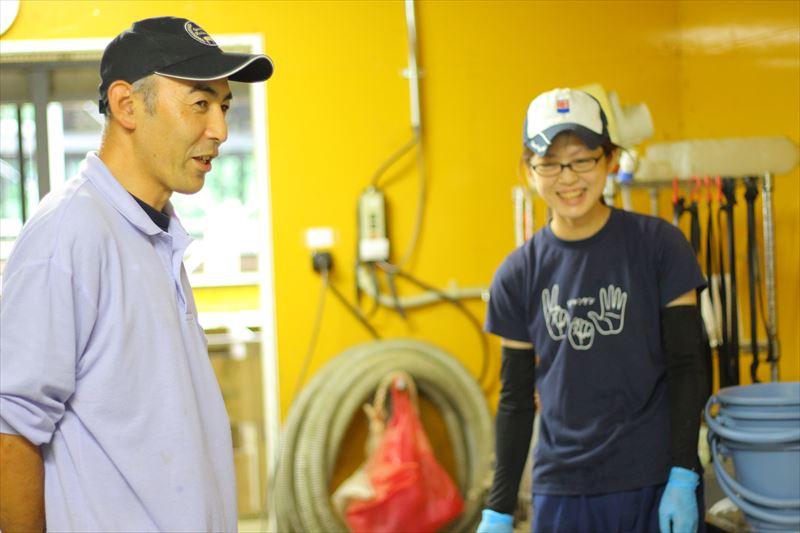フェリスラテ田中さんと従業員さん