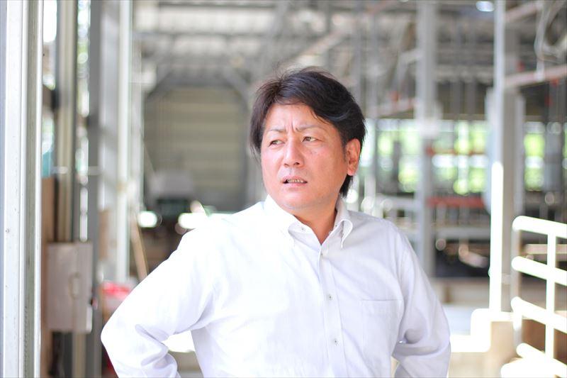 インタビューに答える大和田さん