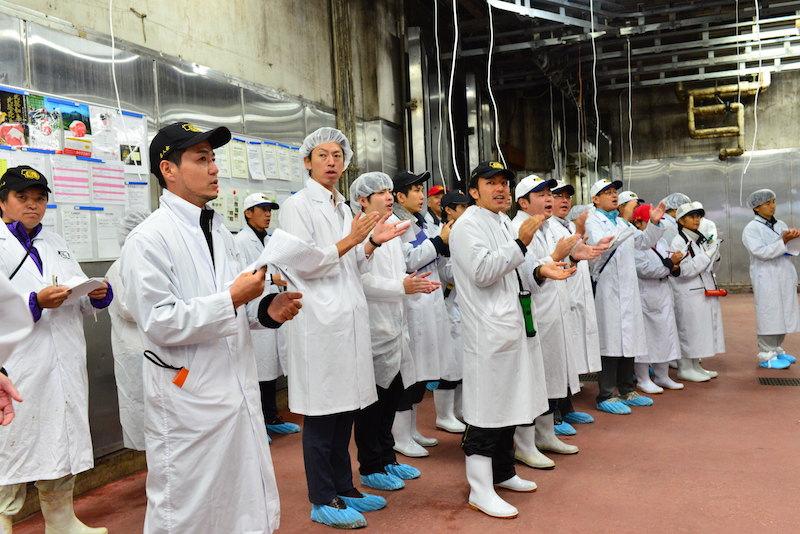 東京食肉市場のせり