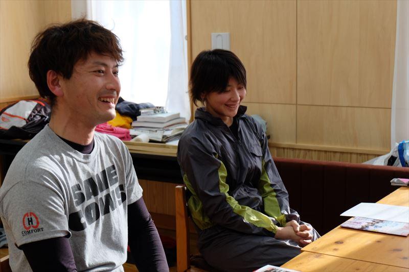 柿沢さんと大友さん
