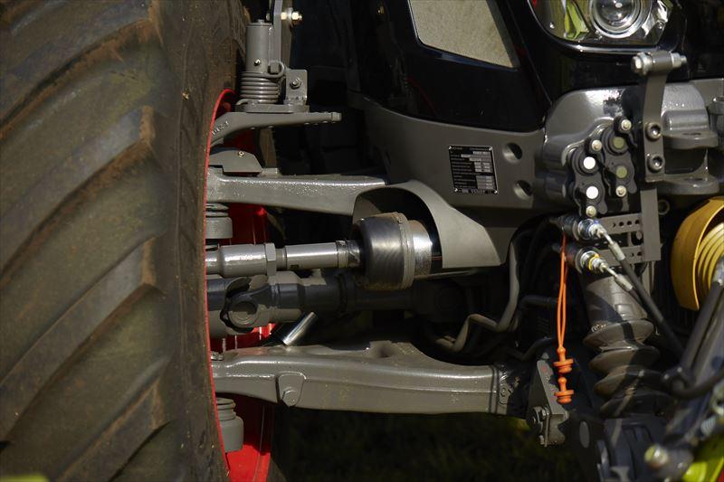 FENDT 933 VARIO S4タイヤ空気圧調整システム