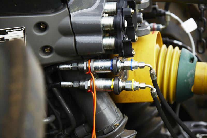 FENDT 933 VARIO S4空気圧調整システム