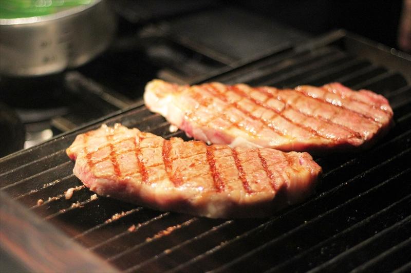 名人牛のサーロインステーキ