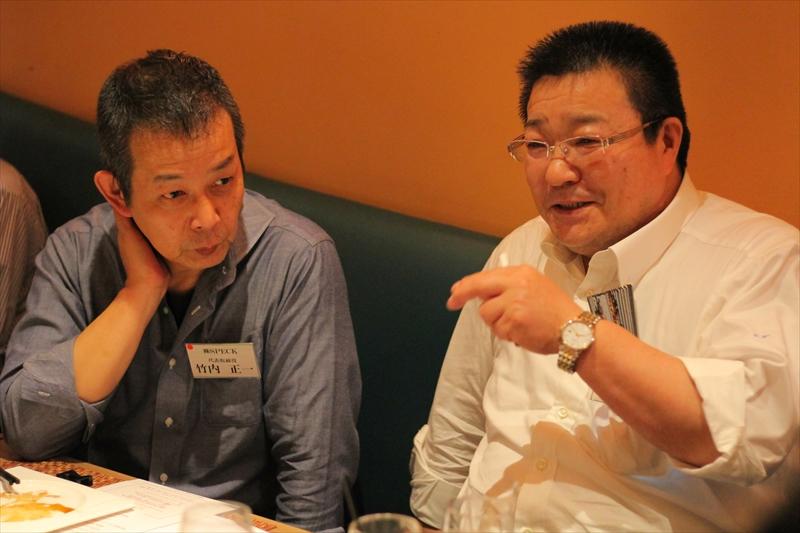 SPECKの竹内さんと伊藤ハムの渡邉さん
