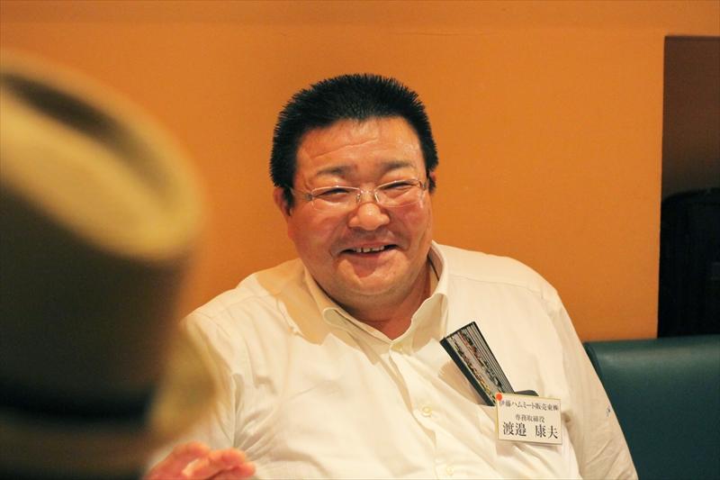 伊藤ハムミート販売株式会社の専務取締役、渡邉康夫さん