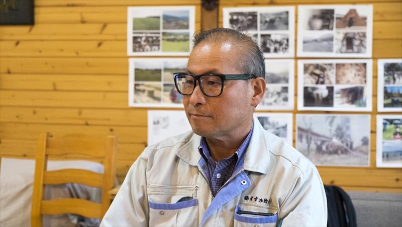 株式会社すすき牧場・代表取締役の薄一郎さん