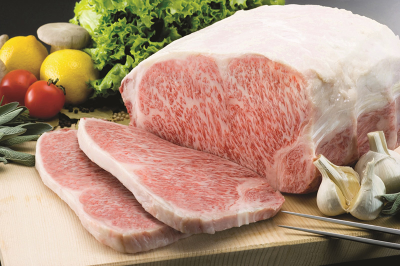 最高級A5ランクの牛肉